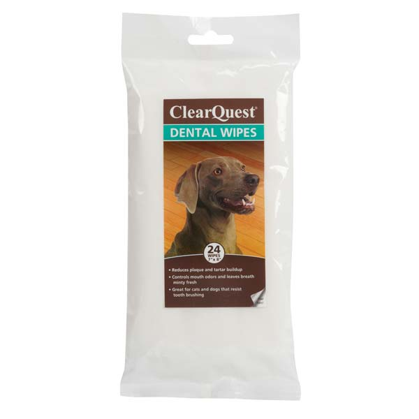 Clearquest Pet Dental Wipes