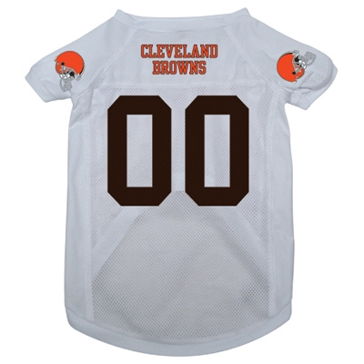 Cleveland Browns Dog Jersey - White