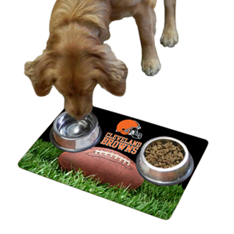 Cleveland Browns Pet Bowl Mat