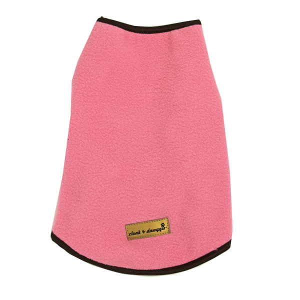 Cloak & Dawggie Fleece Warm-ups - Pink
