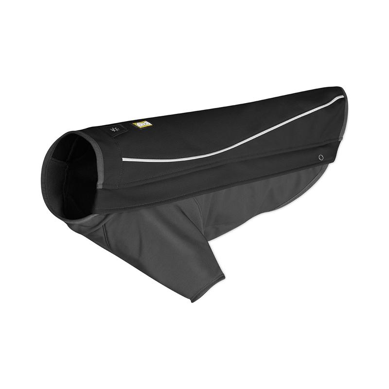 Cloud Chaser Soft Shell Dog Jacket by RuffWear - Obsidian Black