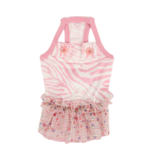Compo Dog Dress by Pinkaholic - Pink