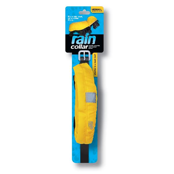 Convertible Rain Dog Collar - Yellow
