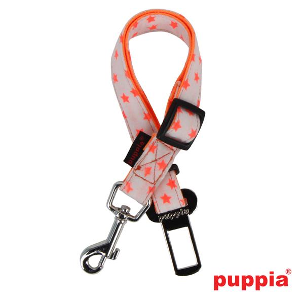 Cosmic Dog Seatbelt Leash by Puppia - Orange
