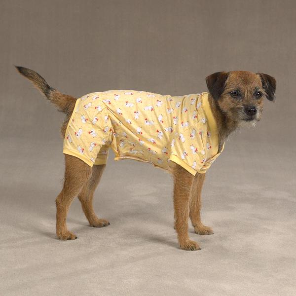 Cozy Dog Pajamas - Yellow Duck