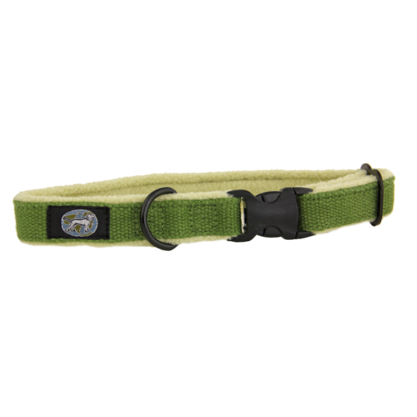 Cozy Hemp Collar by Planet Dog - Apple Green