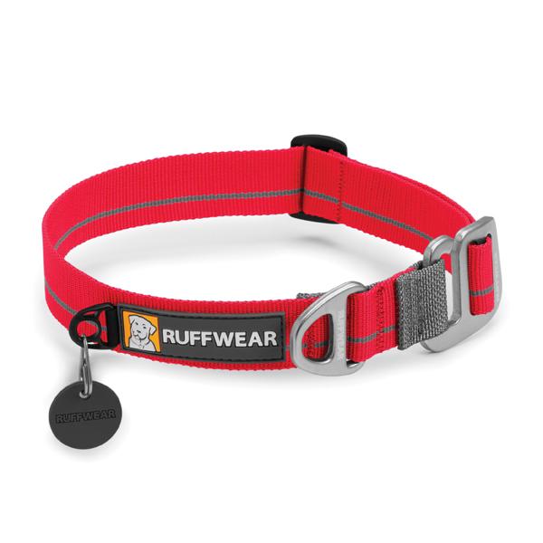 Crag Dog Collar by RuffWear - Red Currant