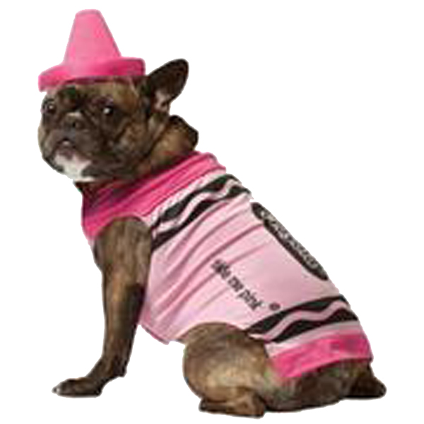 Crayola Crayon Dog Costume by Rasta Imposta - Pink