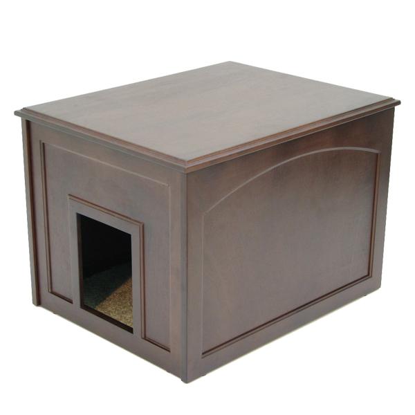 Crown Cat Litter Cabinet - Espresso