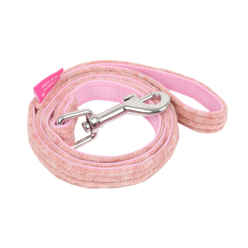 Cushy Flirt Dog Leash by Pinkaholic - Pink