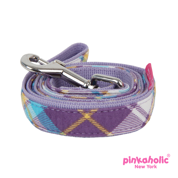 Dainty Dog Leash by Pinkaholic - Purple