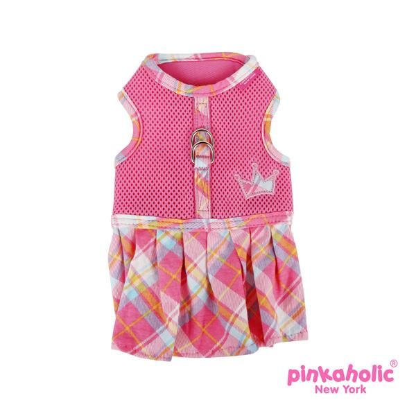 Dainty Flirt Dog Harness Dress by Pinkaholic - Pink