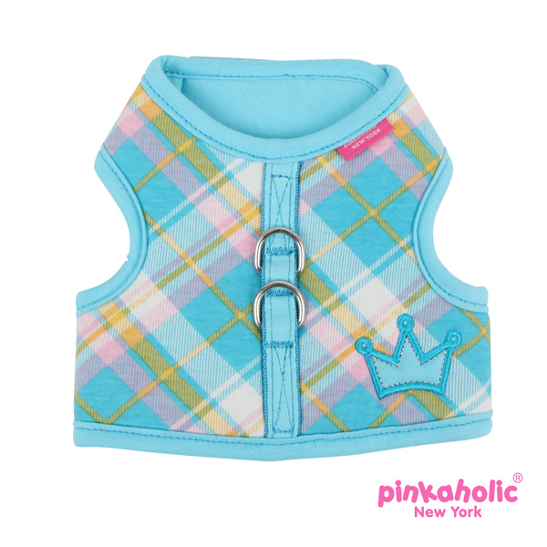 Dainty Pinka Dog Harness by Pinkaholic - Blue