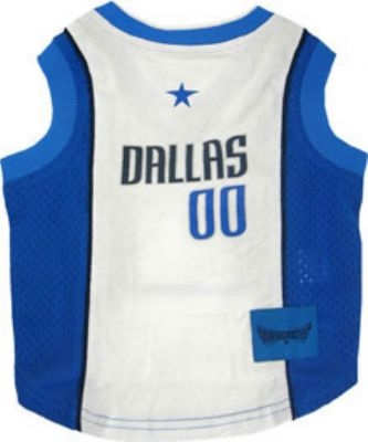 Dallas Mavericks Dog Jersey