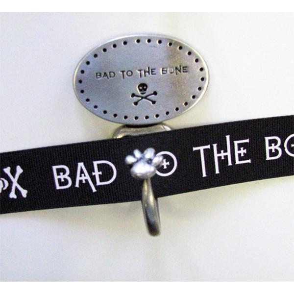 Decorative Leash Hook - Bad to the Bone