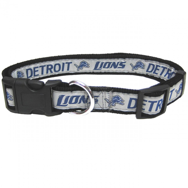 Detroit Lions Officially Licensed Dog Collar