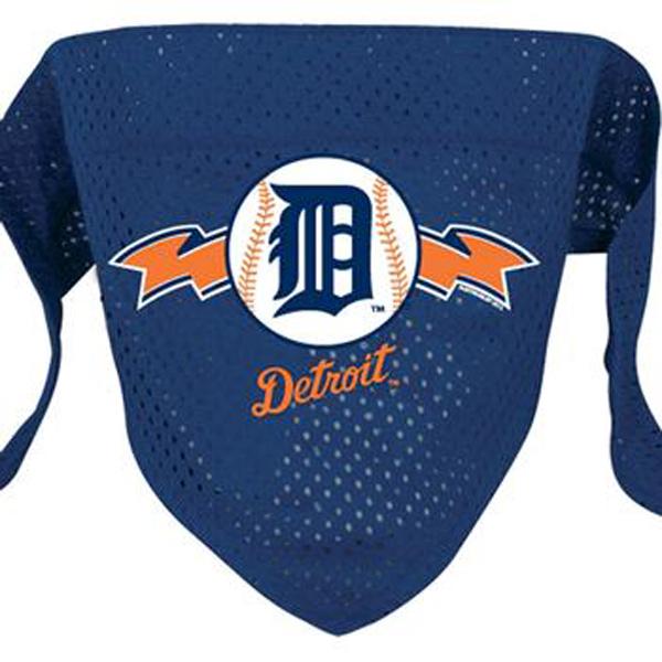 Detroit Tigers Mesh Dog Bandana