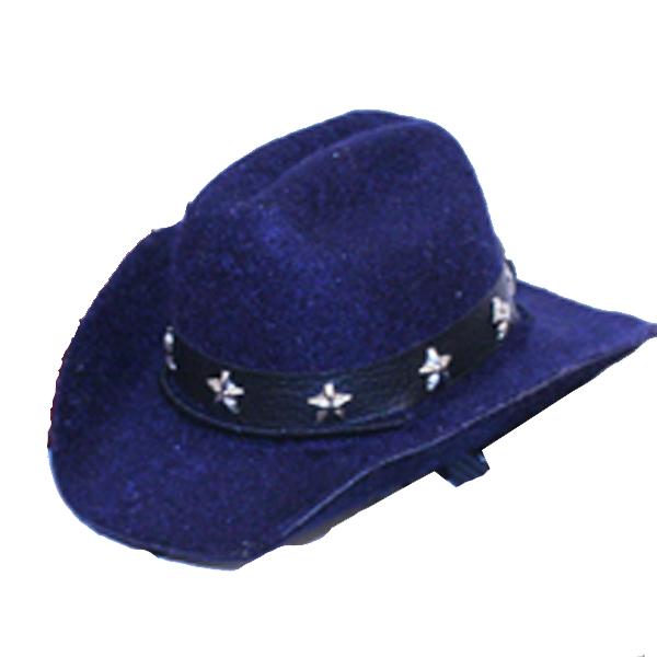 Dog Cowboy Hat - Blue