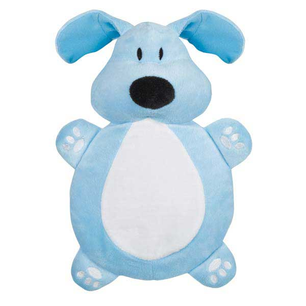 Dog is Good Bolo Crinkleton Dog Toy - Blue