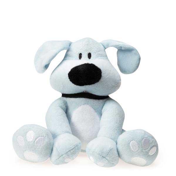 Dog is Good Bolo Plush Dog Toy - Light Blue