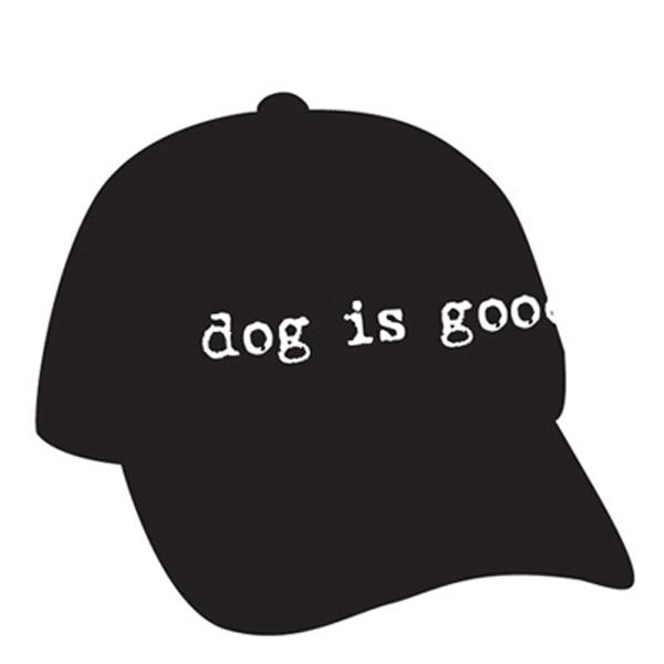 Dog is Good Human Cap - Black