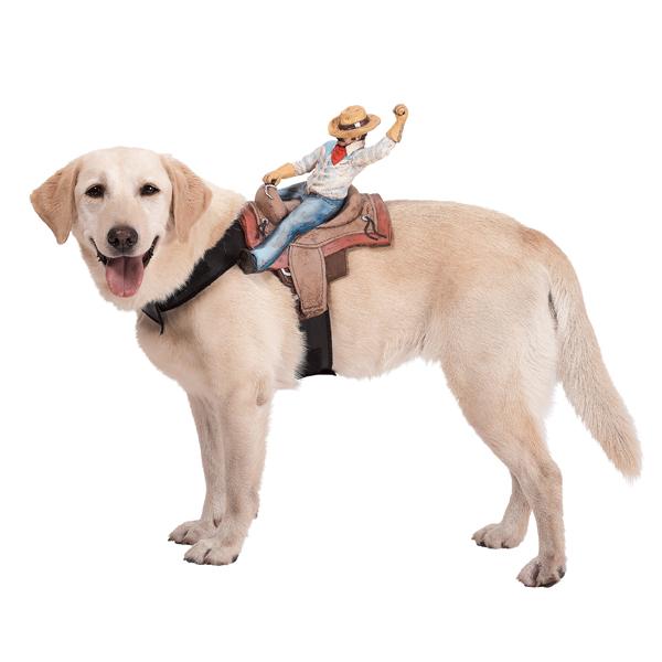 Dog Riders Harness Halloween Costume - Cowboy