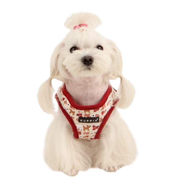 Dog Story Dog Harness by Puppia - Wine