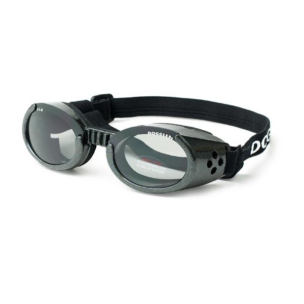 Doggles - ILS Metallic Black Frame with Smoke Lens