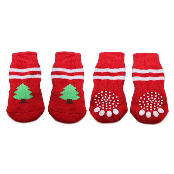 Doggy Socks - Christmas Trees