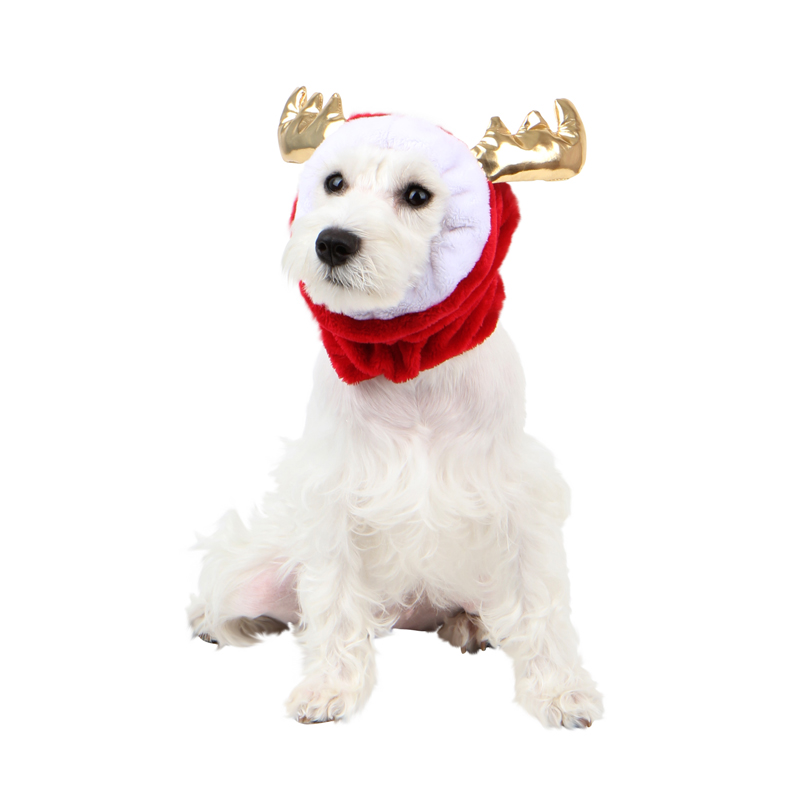 Donner Dog Snood by Pinkaholic - Red