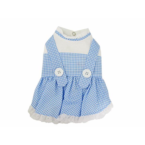 Dorothy Dog Costume Dress - Blue