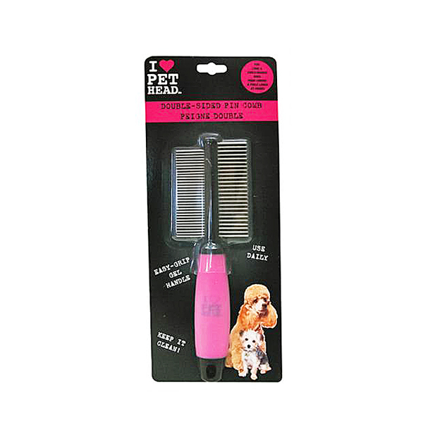 Double-Sided Pin Comb by Pet Head