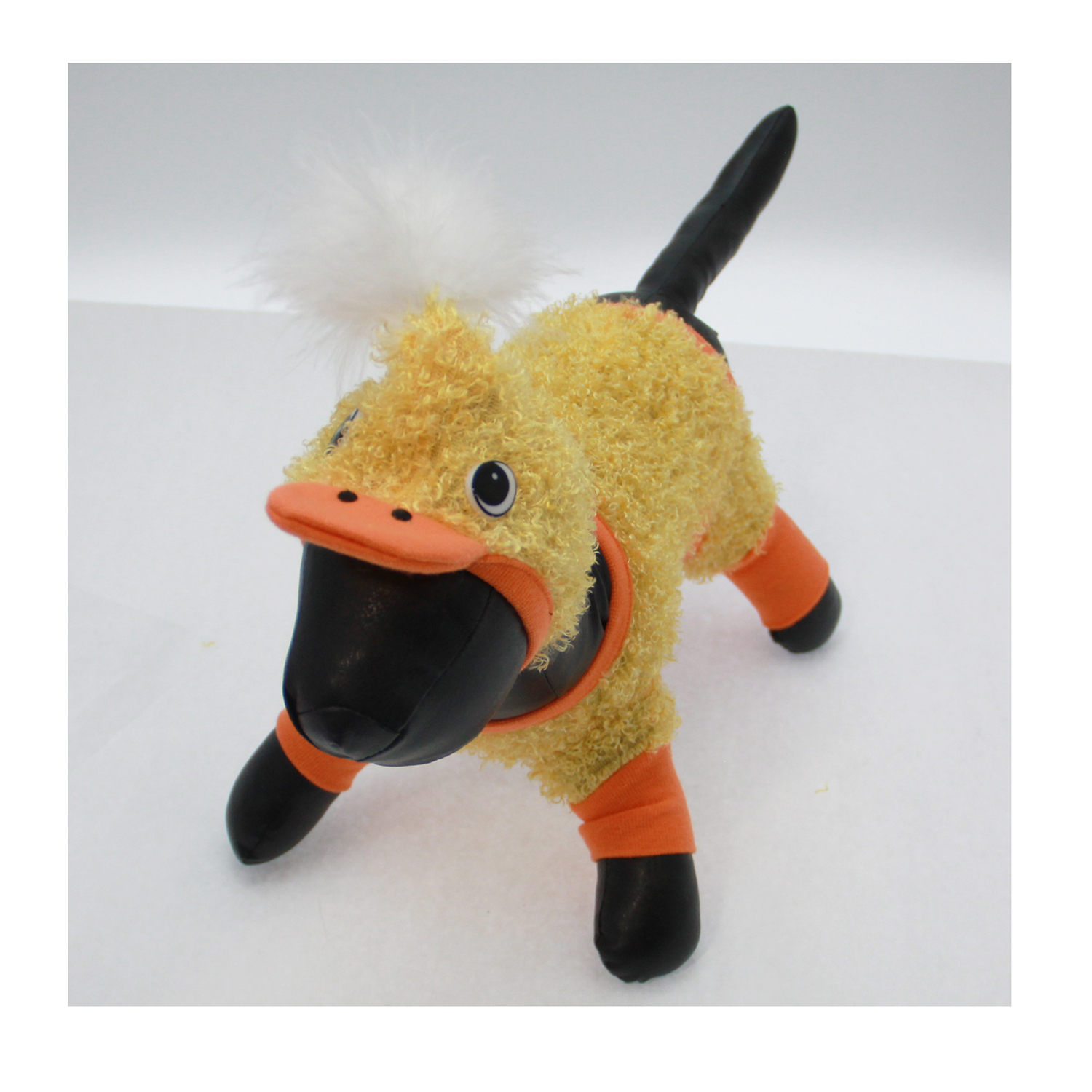 Duck Halloween Dog Costume with Hat