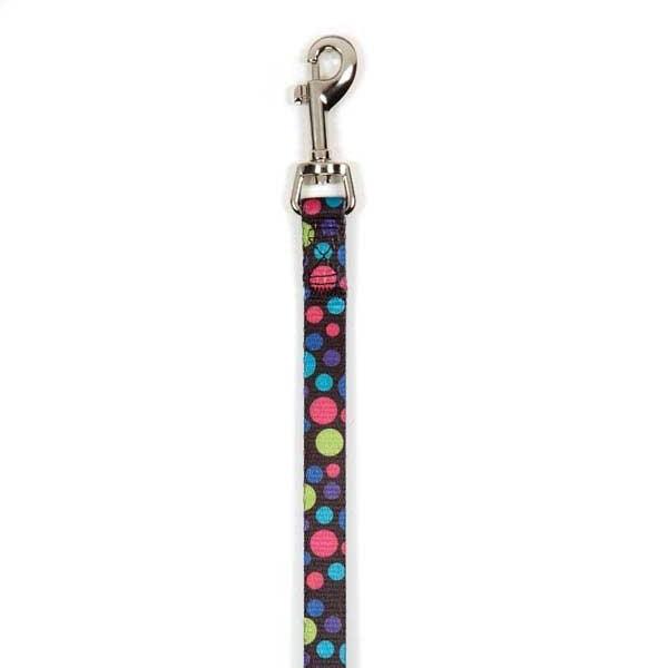 Polka Dot Dog Leash