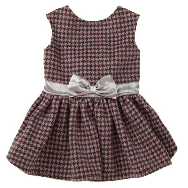 East Side Collection Teatime Dog Dress - Pink