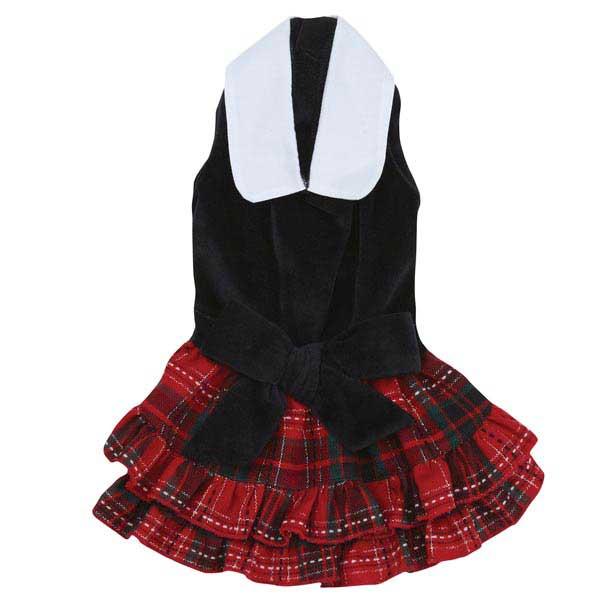 Yuletide Tartan Dog Dress