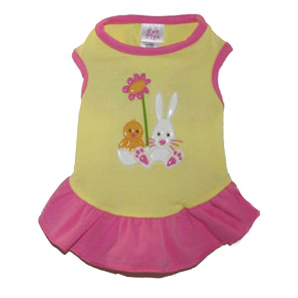 Easter Spring Dog Dress