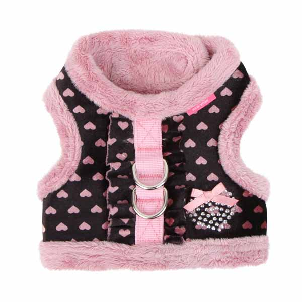 Elfish Dog Harness by Pinkaholic - Pink