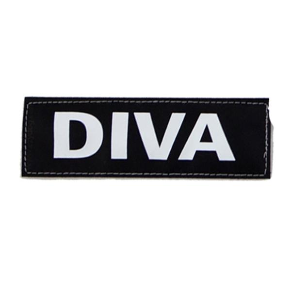 EzyDog Convert Harness Custom Side Patches - Diva