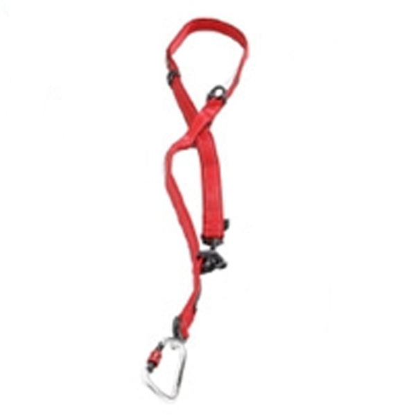 EzyDog Vario 6 Multi-Function Dog Leash with Carabiner - Red