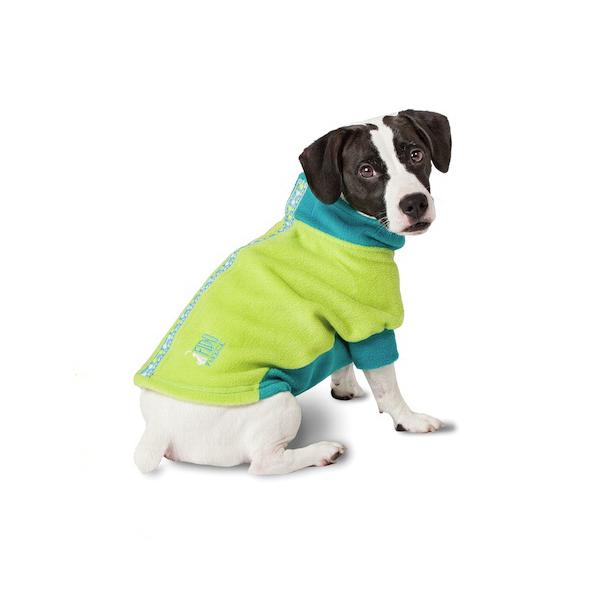 Fido Fleece Limey Bones Dog Coat