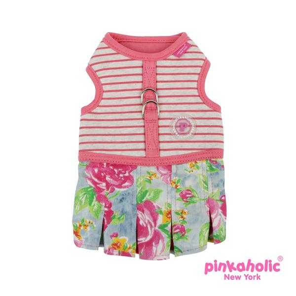 Fiore Flirt Dog Harness Dress by Pinkaholic - Pink