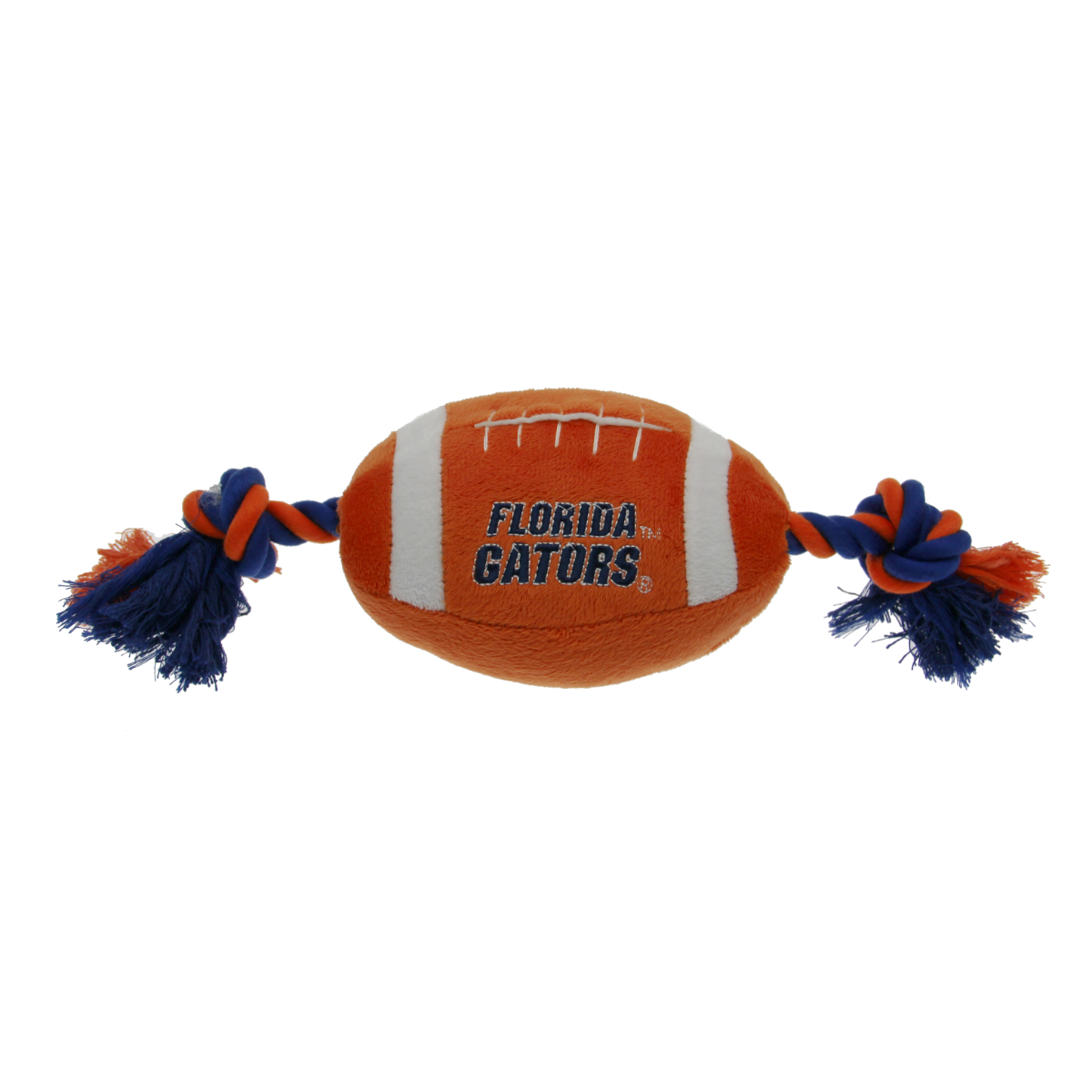 Florida Gators Plush Football Dog Toy