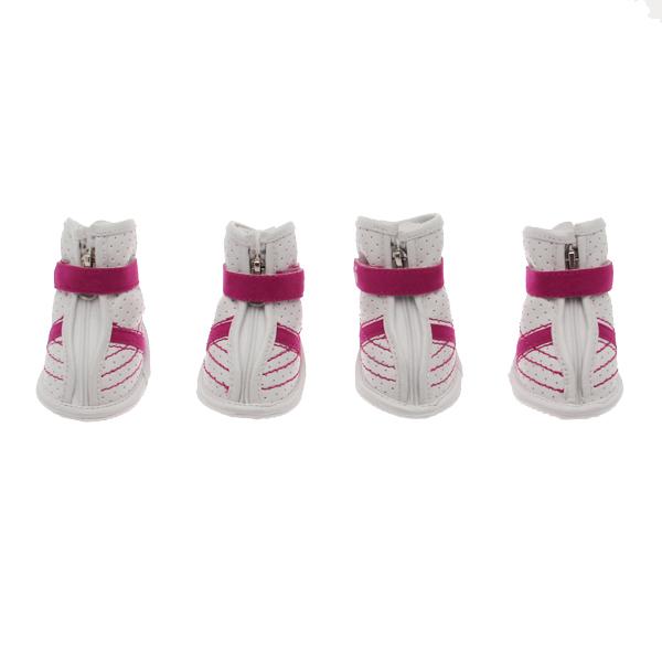 FouFou Sidekicks Dog Shoes - Pink