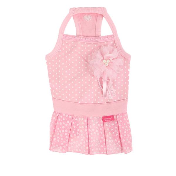 Foxy Dog Dress by Pinkaholic - Pink