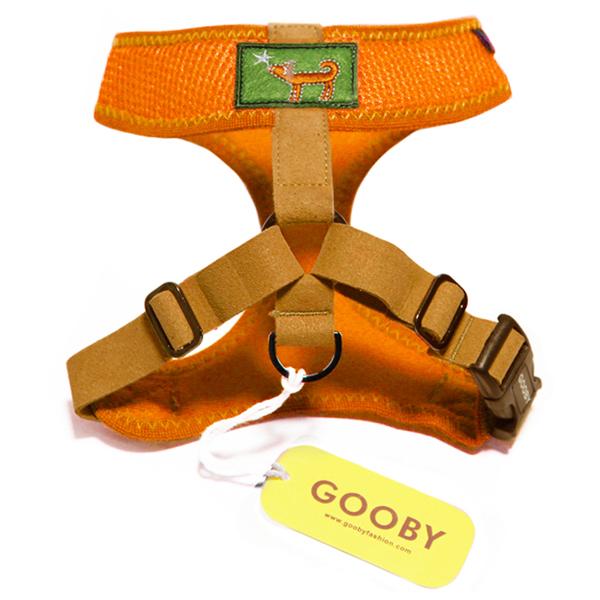 Freedom Dog Harness by Gooby - Orange