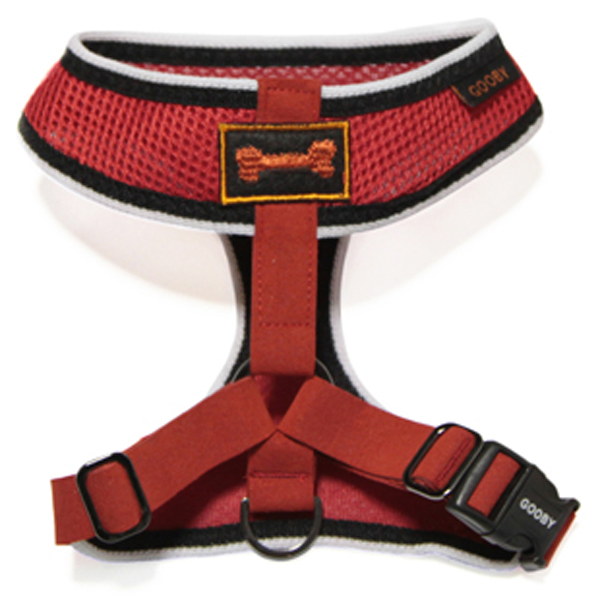 Freedom Sport Dog Harness by Gooby - Red/Black