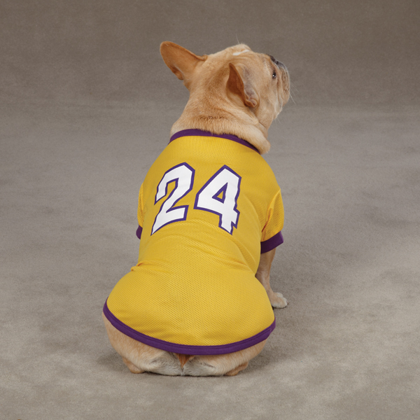Game Day Dog Jersey - Yellow