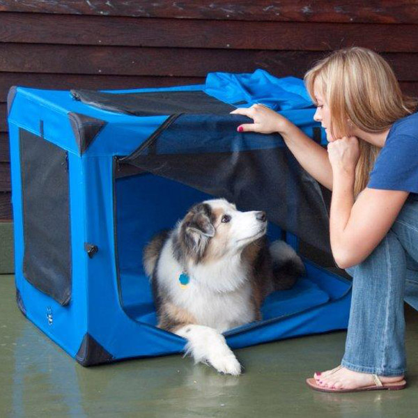 Generation Soft Dog Crates - Blue Sky