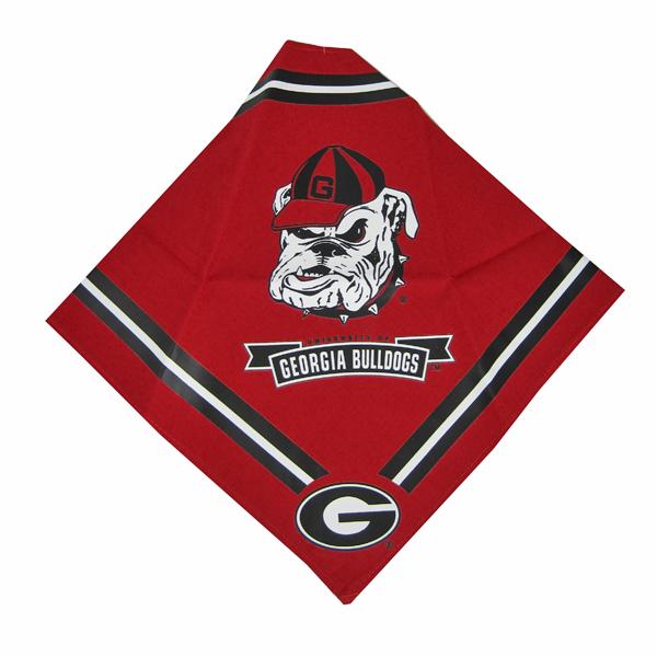 Georgia Bulldogs Dog Bandana - Red